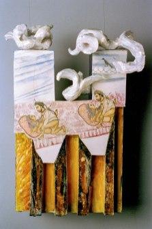 ceramics, 56 x 35 x 12 cm, 1999