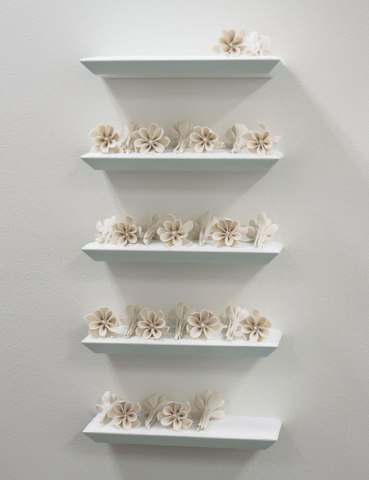 porcelain, mixed media, h.23.75 x w.10.5 x d.4.75 inches, 2013