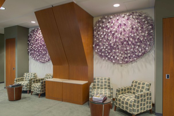 (permanent installation at the Michigan State University Spartan Stadium Building), each: h.65 x w.78 x d.4 inches, 2013
