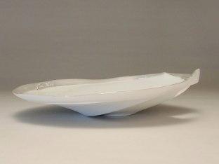 Porcelain, Silver, 40 x 40 x 7 cm, 2014
