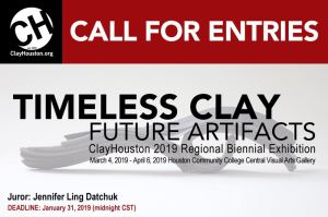 Timeless Clay call for entries