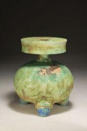 wood-fired stoneware, 18 x 22 cm