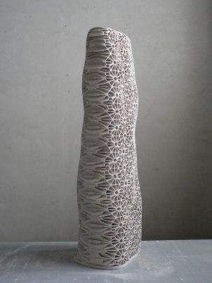 2010-2012, stoneware (84x30x16cm)