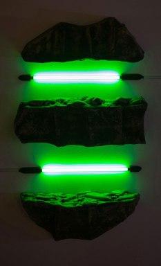 Ceramic and Neon Light Tube, 2016