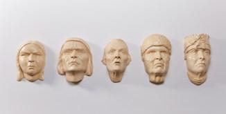 """Gina Adams, """"Ancestor Wabanaquot Sculpture"""""""