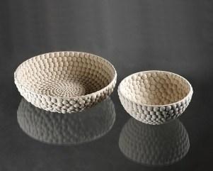 diam 36 cm / 19cm, stoneware, slip, 2016