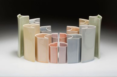 "from ""Rituals of the Maker"" Robert Turner Teaching Fellowship Exhibition, Slip cast porcelain, 2012"