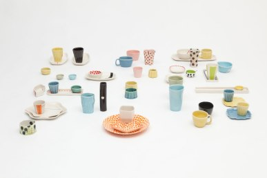 """from """"Pick Mix / All Sorts Collection"""", Slip cast porcelain, 2013-2014"""
