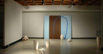 Ceramics, mixed media & found objects, 10'x38'x12', 2008