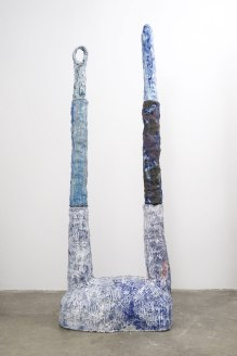 ceramic, 98 x 38 x 21.5 inches, 2015