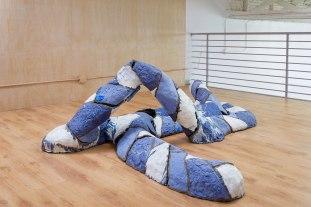 ceramic, glaze, 33 x 92 x 73 inches, 2016