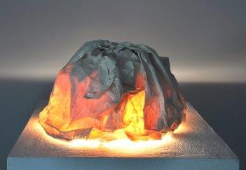Porcelain, cone 04 glaze, light, 2013