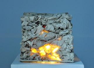 Porcelain, cone 10 glaze, light, 2013