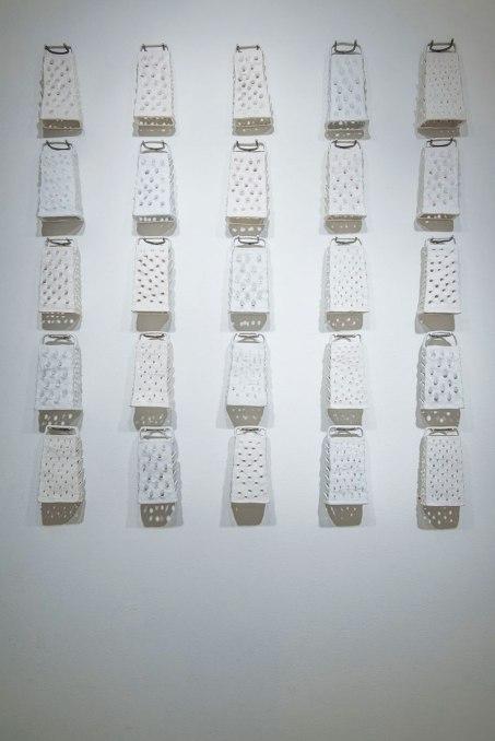 "2014, 60"" x 60"", porcelain, metal"