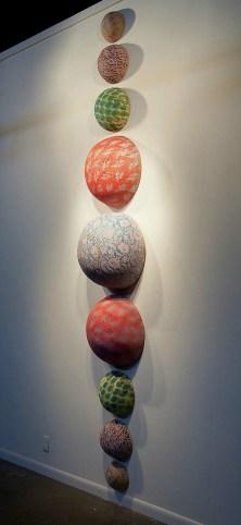 Line, Cone 6 Oxidation, slips, glazes, 2'x14'x2'