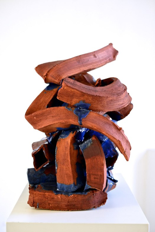 H-60cm; 2014; Paperclay, glaze