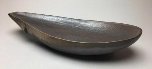 """H 4"""" X L 19.5"""" X W 9"""" Wood fired Stoneware"""