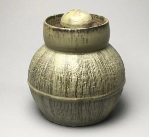 "H 11"" X L 9.5"" X W 9.5"" Wood fired Stoneware"
