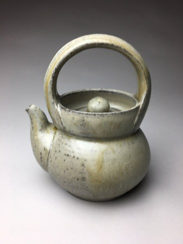 "H 9"" X DIA 6"" Wood fired Stoneware"