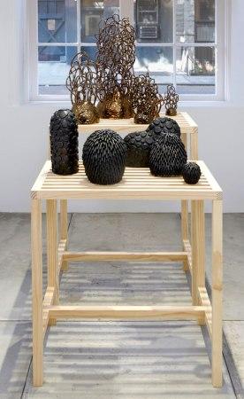 Ceramic and wood