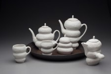 """Porcelain and Stoneware, 12.5"""" x 24"""" x 19"""""""