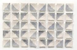 """Porcelain, Underglaze, and Glaze, 55"""" x 88"""" x 1.5"""", 2016"""