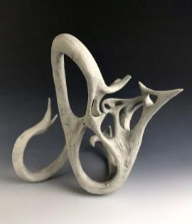 porcelain, 13.5 in x 12 in 13 in, 2017