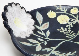 "Ruth Easterbrook, ""Flower Handle Server"" (Detail)"