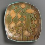 """Robbie Heidinger, """"Lotus Platter"""""""