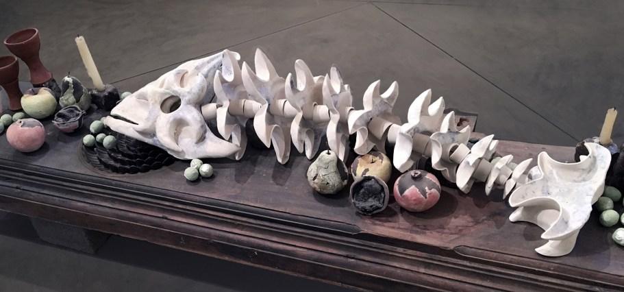 5' x 2', Stoneware, Porcelain, 2011
