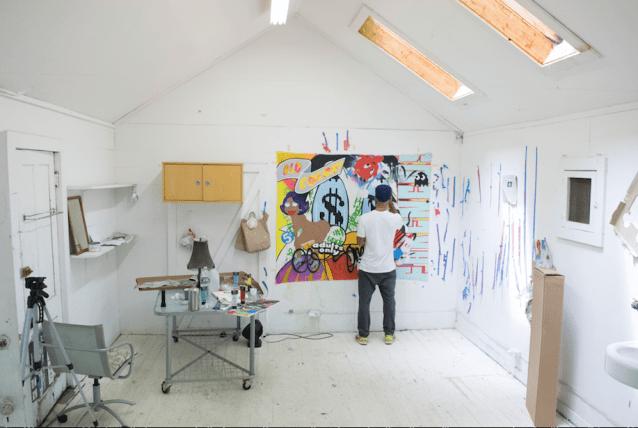 Pollock-Krasner grant image