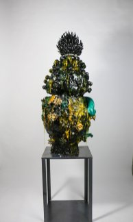 Clay, Resin and Lustre. 1020x480mm