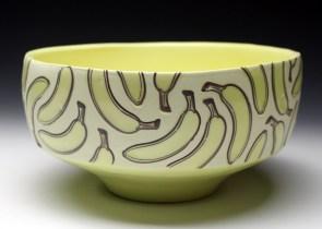 "porcelain & glaze with laser transfers, cone 10, 5"" x 9"""
