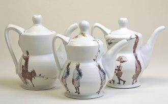 "Porcelain, Decal, 7""h x 5""w x 3""d"