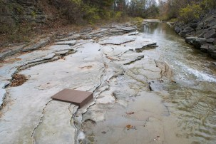 2016, Raw Chesapeake Bay Clay. Installation in Susquehanna Tributary Stream.
