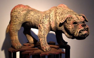 """20""""x 35""""x 18"""", ceramic, 2008"""