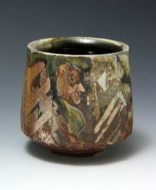 "Woodfired Stoneware4"" x 3.75"", 2016"