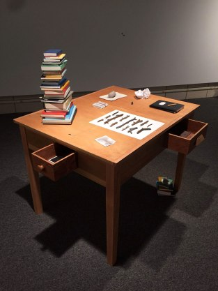 """Cynthia Gregory, """"The Poet's Desk"""""""