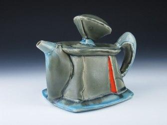 white stoneware, cone 6 oxidation,7x8x6