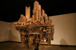 2008, Wood Fired Ceramic, 9ft x 5ft x 4ft