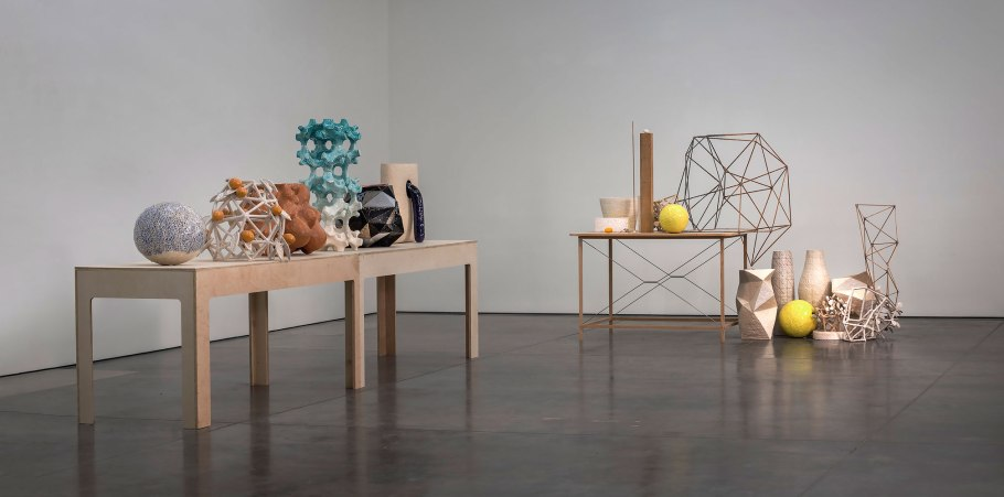 2014, ceramic, plywood, oak, cedar, epoxy, stainless steel, photo credit: none