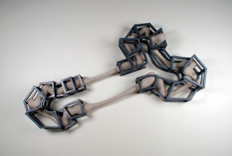 "Ceramic, unfired clay, glaze, 68"" x 42"" x 9"", 2012"
