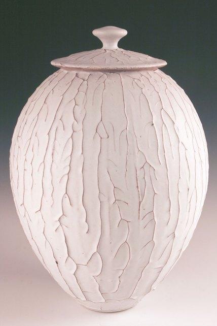 """Danny Meisinger, """"Dendritic Jar"""""""
