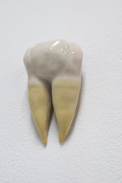 """Porcelain and Latex, 3"""" x 2"""" x 1.5"""", 2013"""