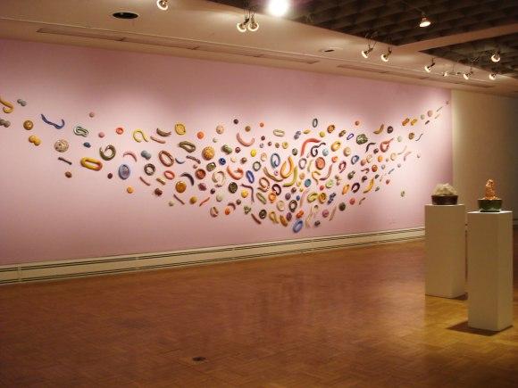 "installation at ""Women To Watch-Ohio"""