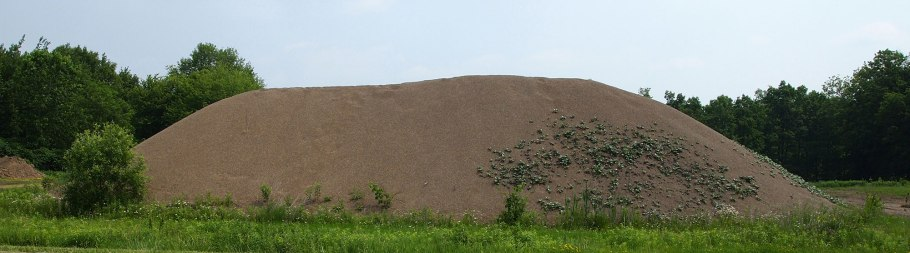 approx. 325 cubic yards of gravel