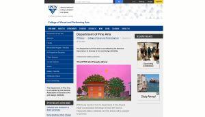 IU Purdue Fort Wayne website screenshot