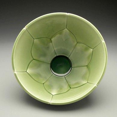 """Large Lotus Bowl, 2011, 7x12x12"""""""