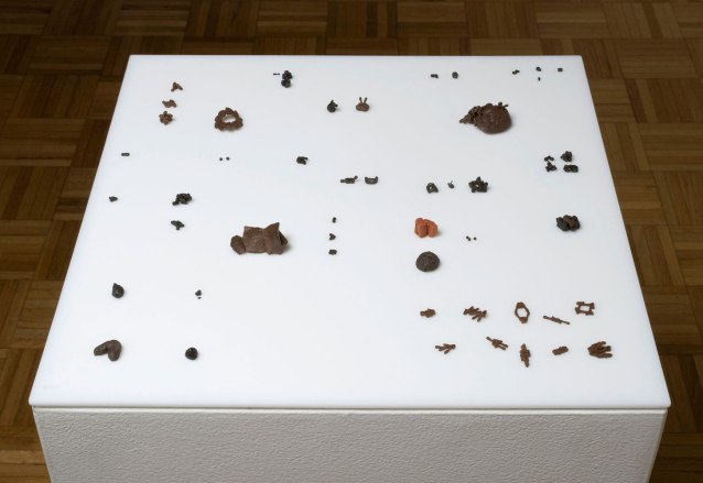 """Untitled, Terracotta, dimensions variable, (1"""" tall max)"""