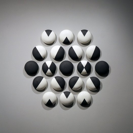 "Jackie Head, ""Black and White Study #1"""